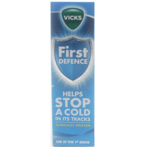 vicks first defence instructions