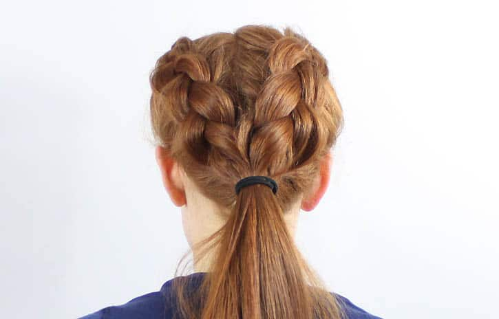 reverse french braid instructions