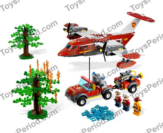 lego city fire truck 60002 instructions