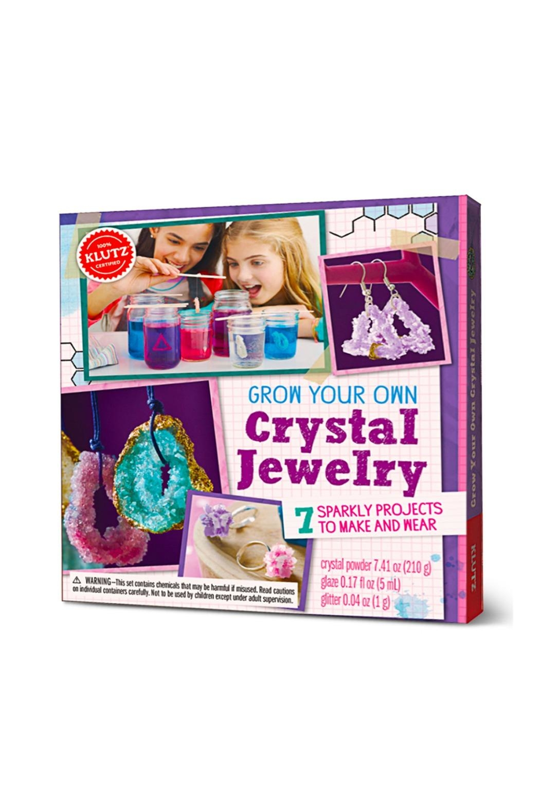 scholastic crystal growing kit instructions
