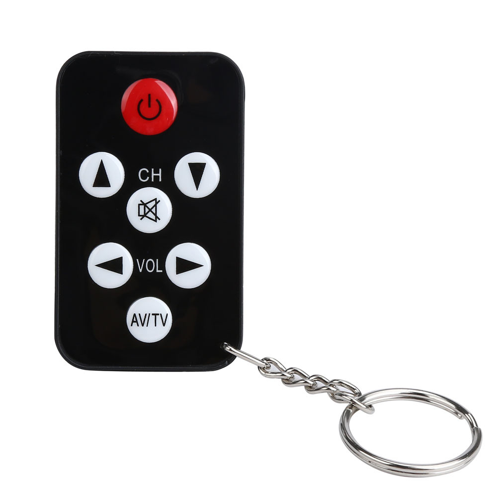 mini tv remote control keychain instructions