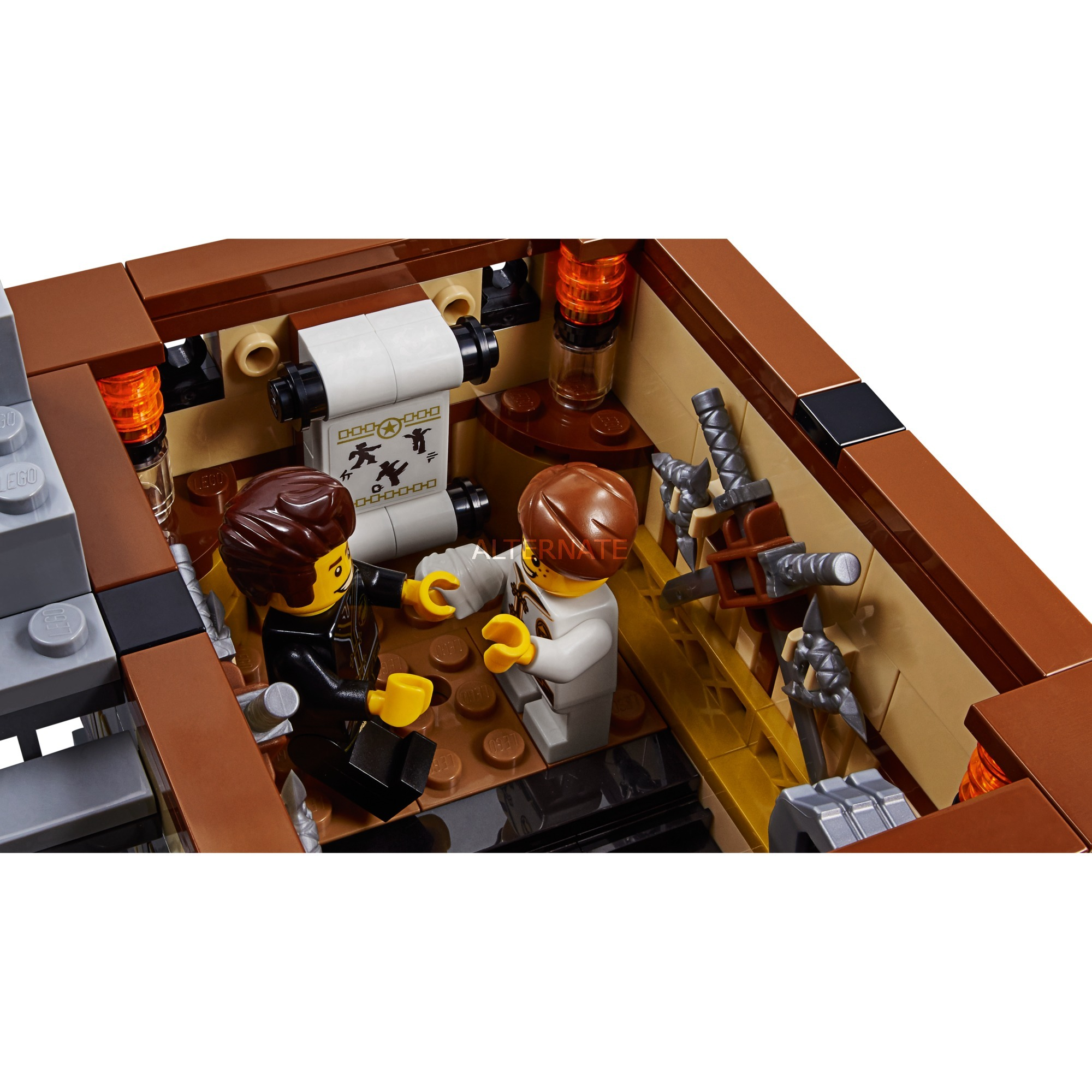 lego ninjago dojo instructions