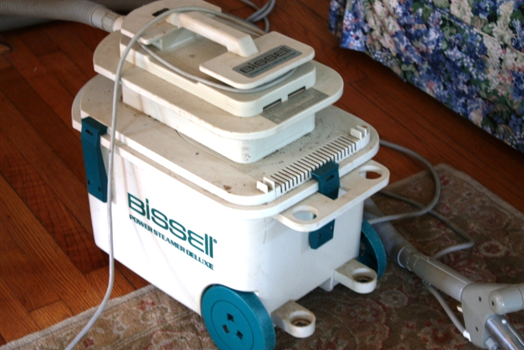 bissell deep cleaning machine instructions