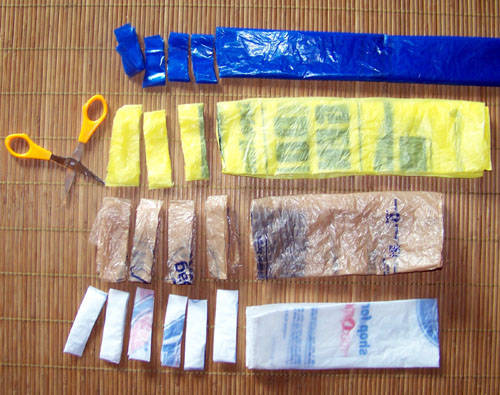 plastic bag rug instructions
