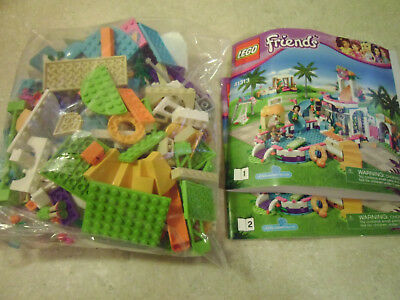lego friends heartlake summer pool instructions