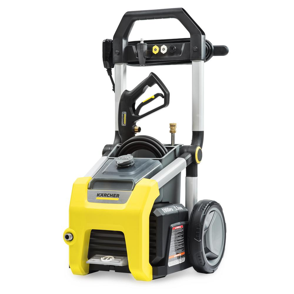 karcher pressure cleaner instructions