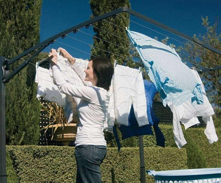 hills folding clothesline instructions