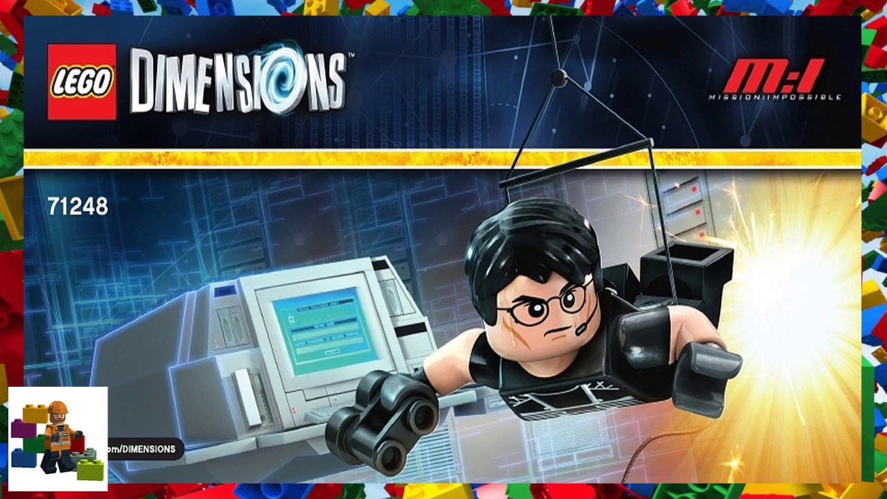 lego dimensions mission impossible instructions
