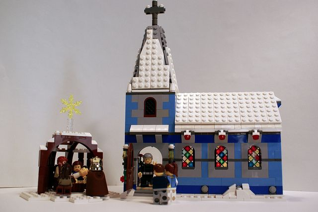 lego nativity scene instructions
