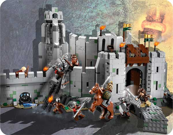 lego helms deep instructions