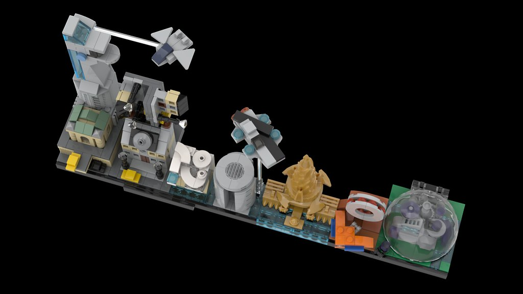 lego stark tower instructions