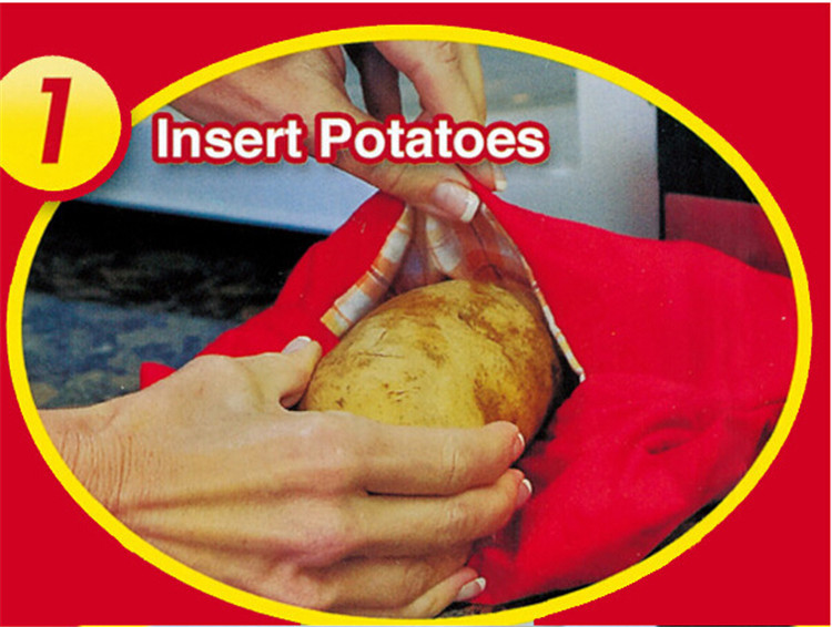 microwave potato bag cooking instructions