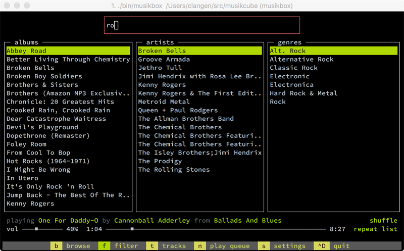 pi music player instructions