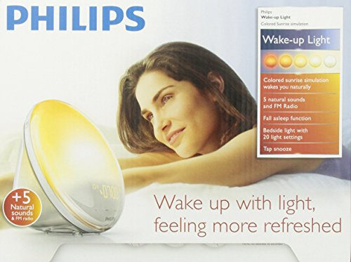 philips light alarm clock instructions