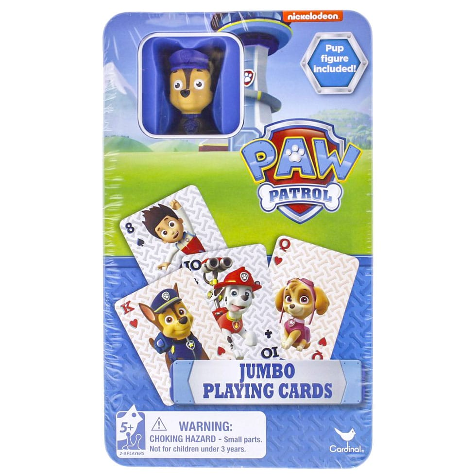 paw patrol card game instructions