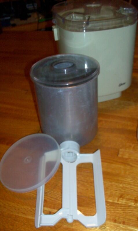 oster ice cream maker instructions