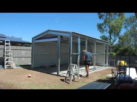 stratco gable homeshed instructions