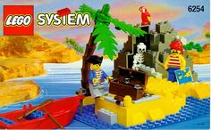 old lego pirate ship instructions