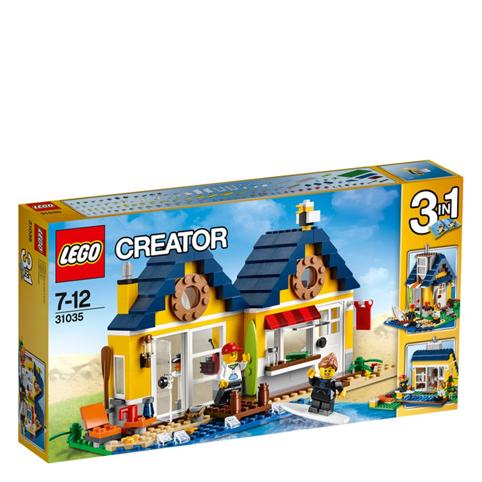 lego creator beach hut instructions