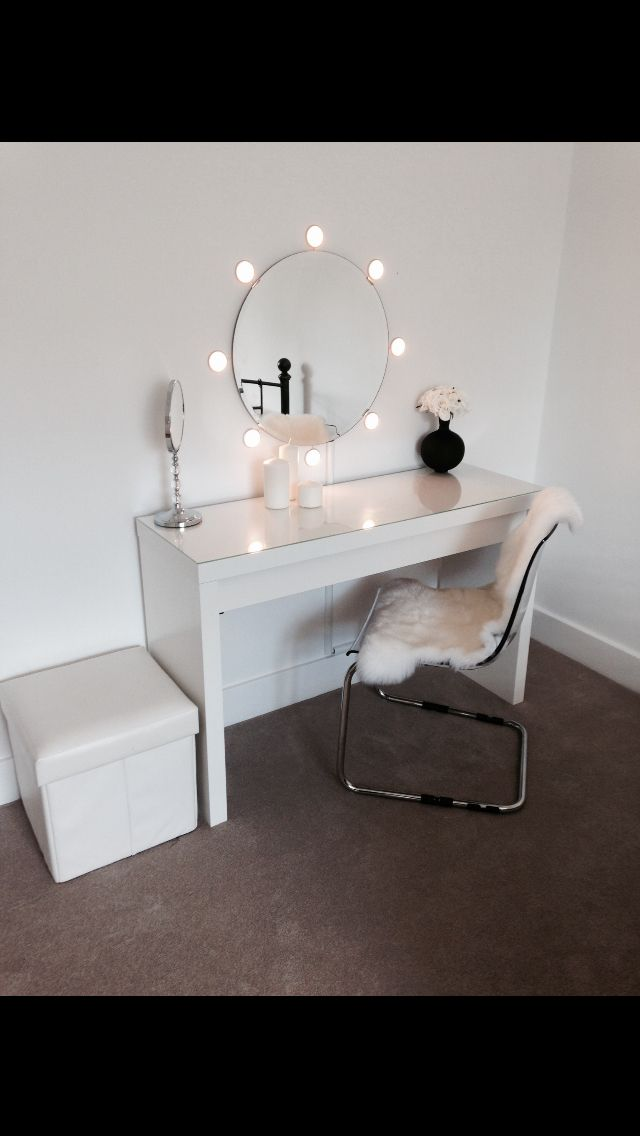 malm dressing table instructions