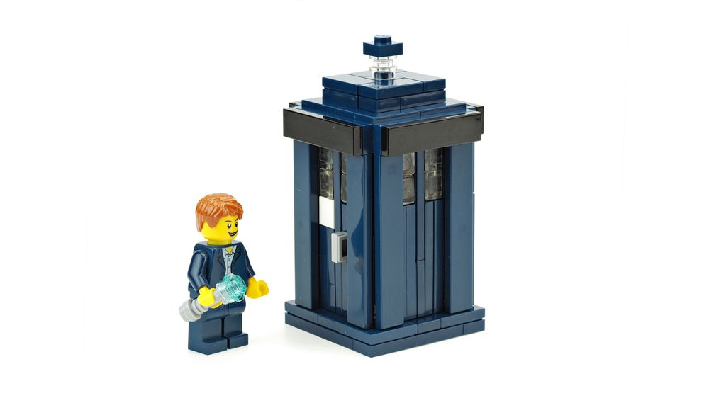 lego tardis building instructions
