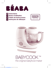 beaba babycook instruction manual