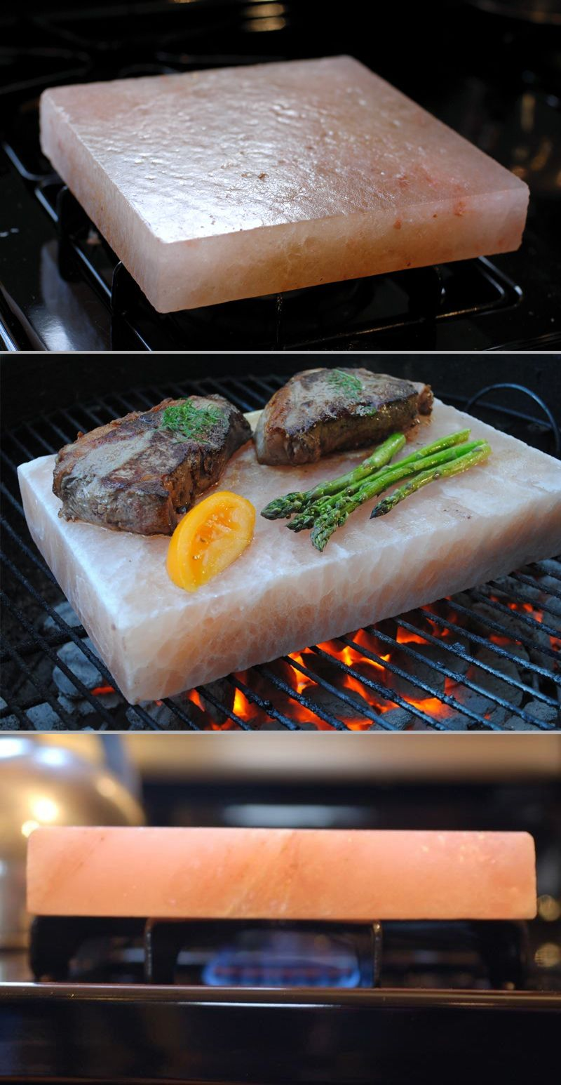 himalayan salt block cooking instructions