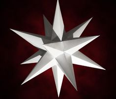 26 point moravian star instructions