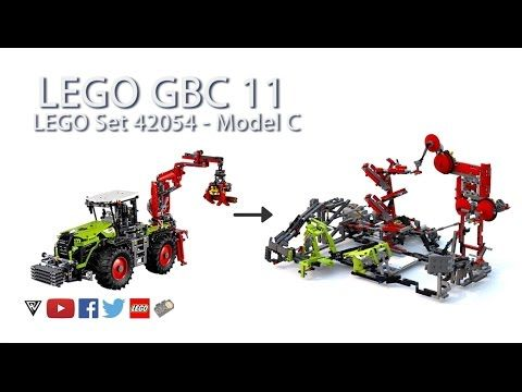 lego 42054 b model instructions