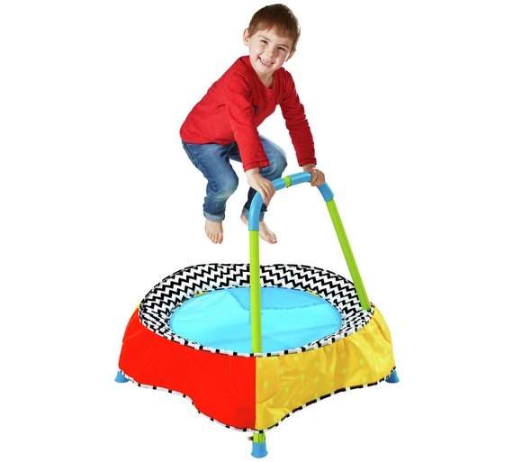 kid active trampoline instruction video
