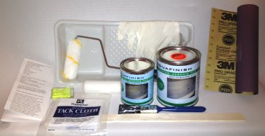 rustoleum tub and tile spray paint instructions