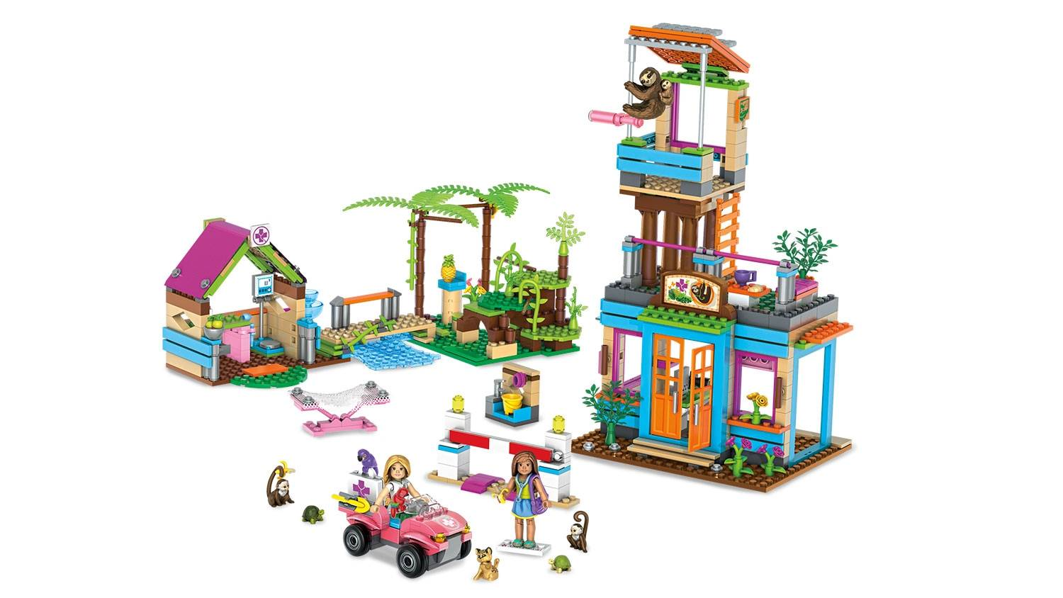 mega bloks castle playhouse instructions