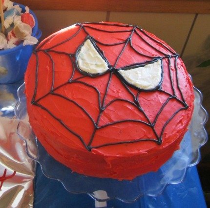 spiderman cake pan instructions