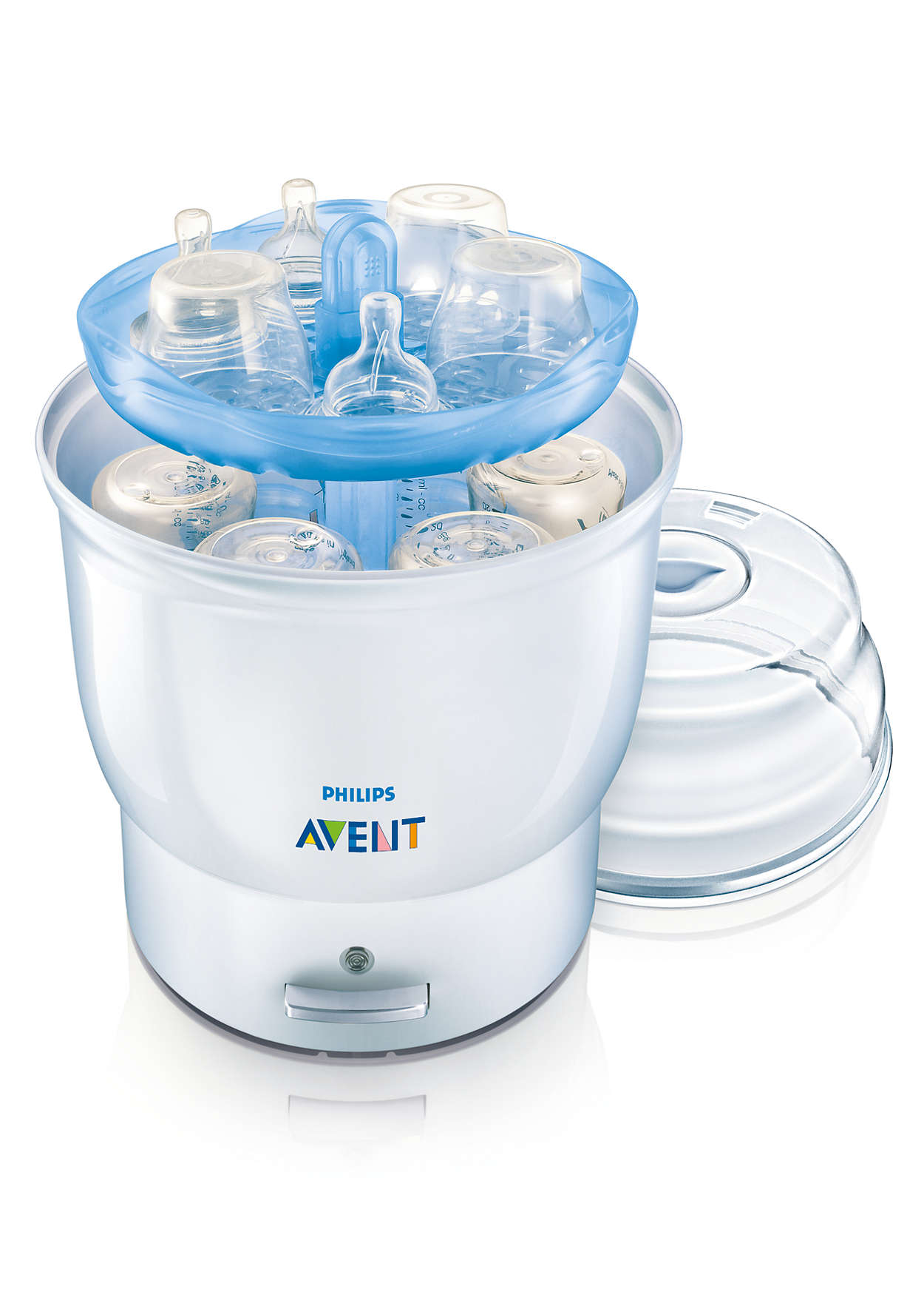 avent bottle sterilizer instructions