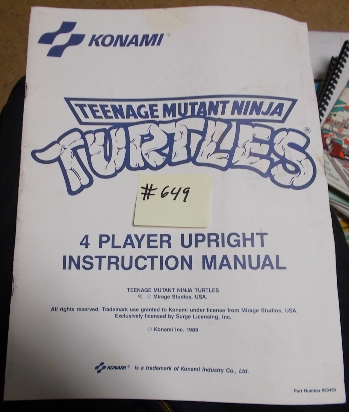 free video game instruction manuals