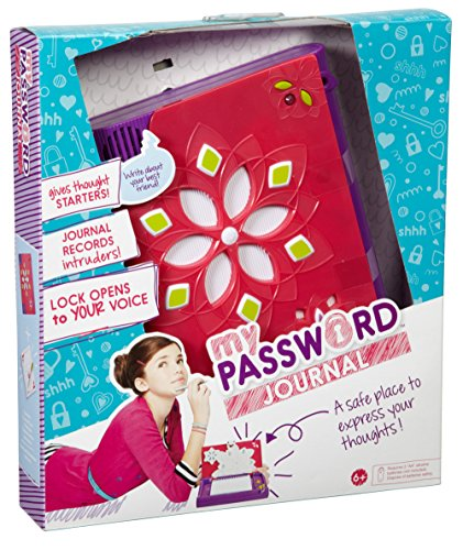 mattel password journal instructions