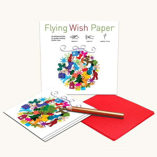 flying wish paper instructions