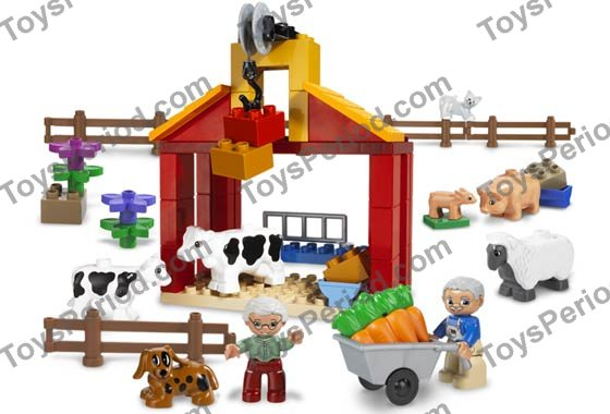 lego farm set instructions