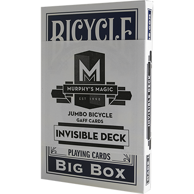 invisible deck trick instructions