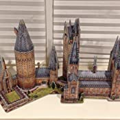 harry potter 3d puzzle astronomy tower instructions