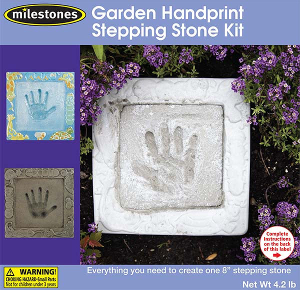 stepping stones handprint kit instructions