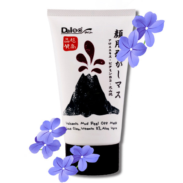 daiso charcoal mask instructions