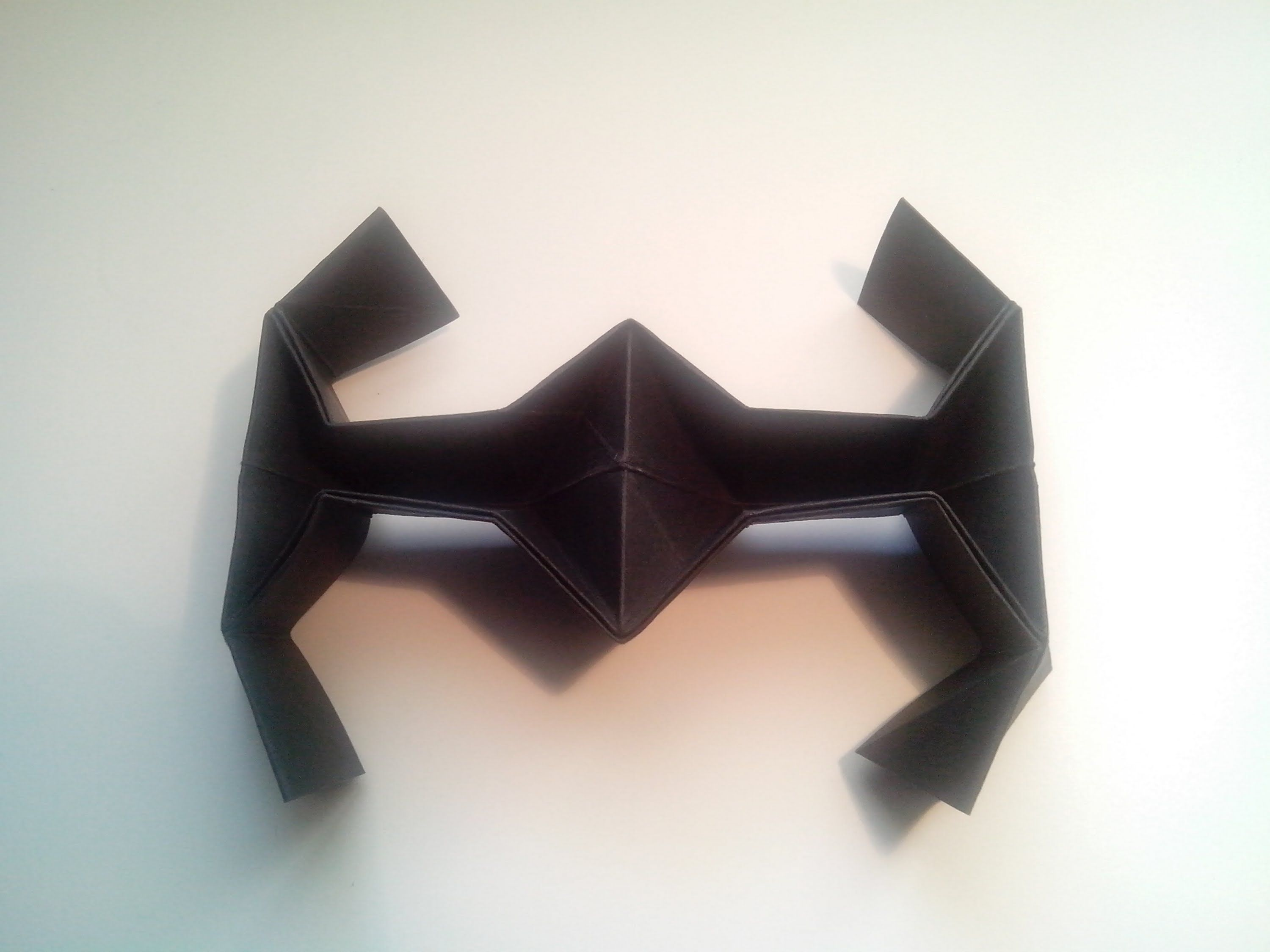 origami tie fighter instructions