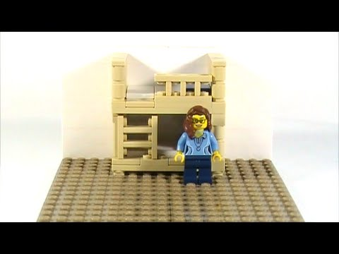 lego bunk bed instructions
