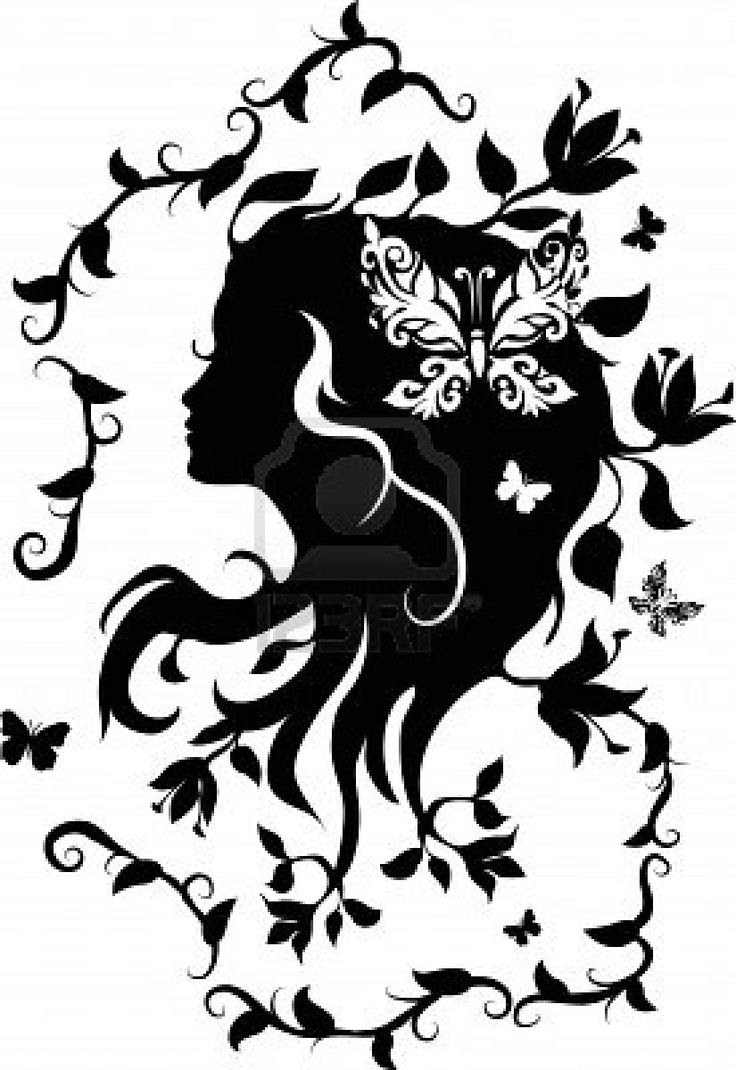 silhouette tattoo paper instructions