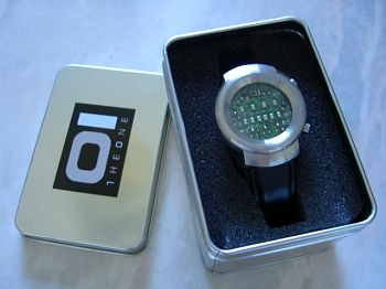 binary led watch instructions