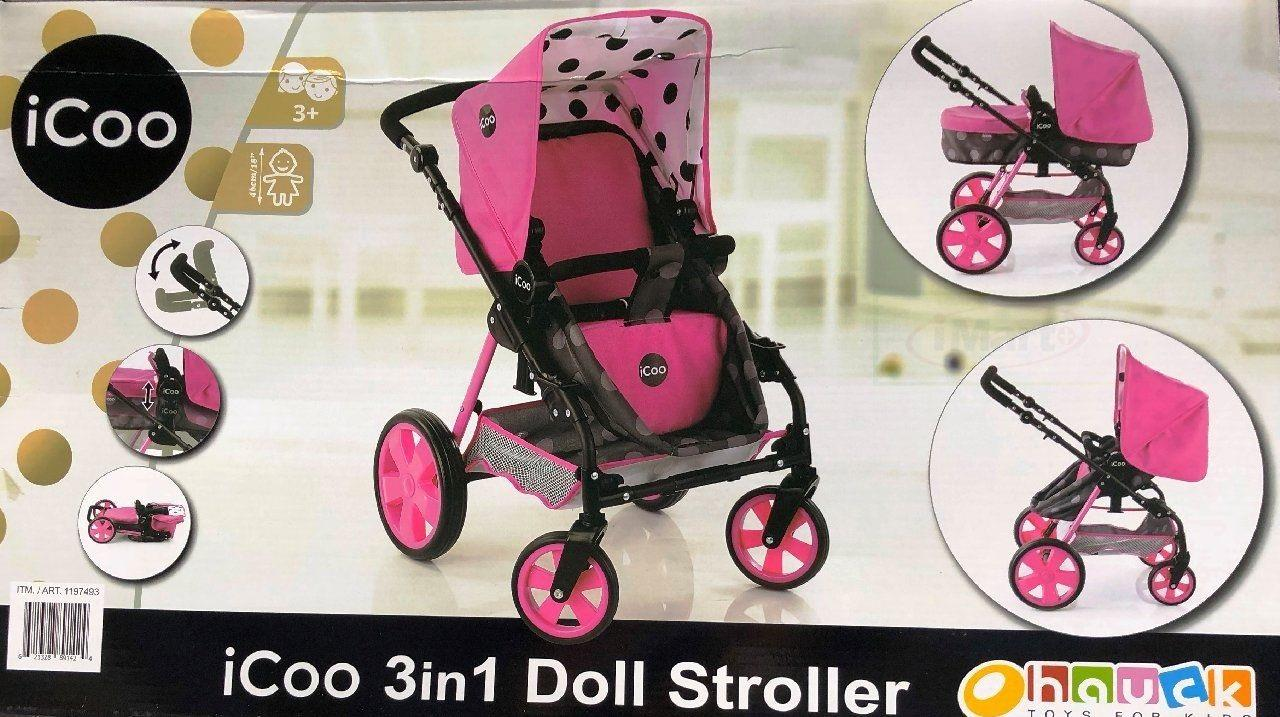 i coo doll stroller instructions