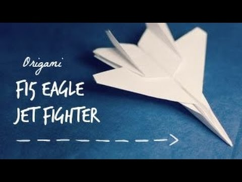 f 22 raptor paper airplane folding instructions