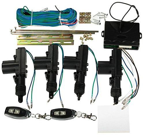 universal central locking kit instructions