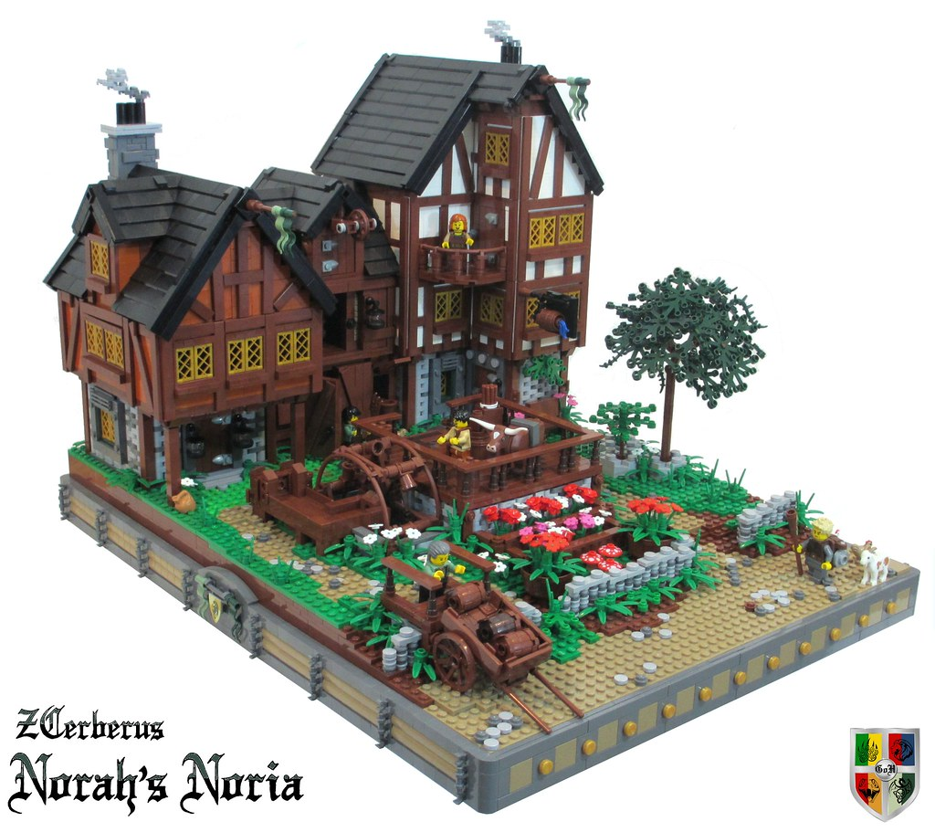 lego ninjago blacksmith shop instructions